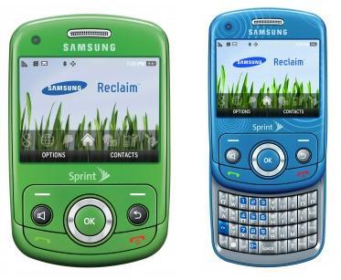 samsung reclaim 1250765126 Lancement du Reclaim, le portable écolo de Samsung
